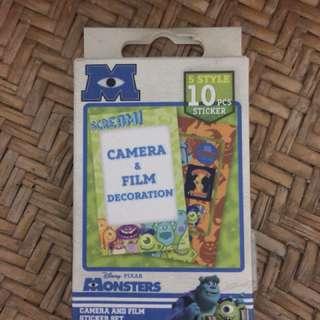 🚚 即可拍相機專用 怪獸電力公司 邊框貼