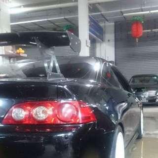 CF Js racing GT wing