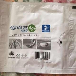Aquacel Ag+ extra 10cm x10cm, 38元/片,有多片