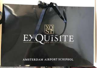XQST Amsterdam Paper Bag with 🎀😊