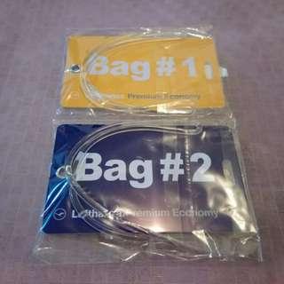 航空公司行李牌($8/件,全要$14)