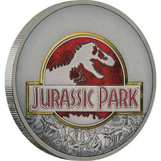 Universal Studios - Jurassic Park 25th Anniversary 1 oz Silver proof Coin