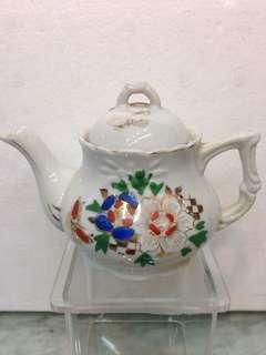 Porcelain-旧日本花卉壶(次品)