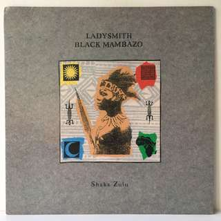 Ladysmith Black Mambazo ‎– Shaka Zulu (1987 USA Original - Vinyl is Mint)