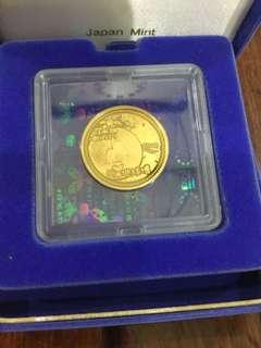 Japan 2005 AICHI Expo ¥10000 Gold coin