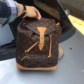 Authentic Lv Backpack MM Mono