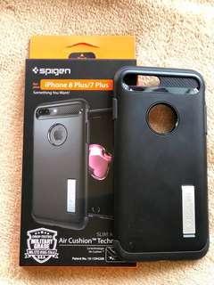 Spigen iPhone 8 Plus Case Slim Armor  (3 months of use)