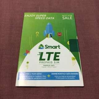 SMART LTE Prepaid Sim