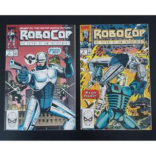 Robocop #1 & #2 (1990) Sensational 1st & 2nd Issues!