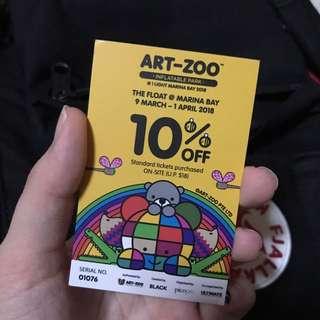 Art-Zoo 10% off