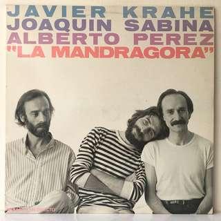 Javier Krahe, Joaquín Sabina, Alberto Pérez – La Mandrágora (1981 Spain Original - Vinyl is Mint)