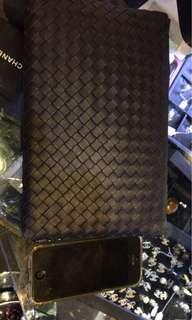 BV 意大利 名牌 織皮手拿包 全新購自歐洲 保證真品