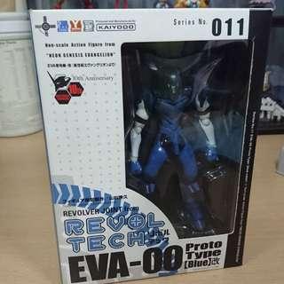 Evangelion Unit 00 Rare Blue