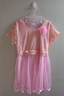 Dress renda big size