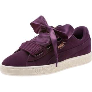 Puma Basket Heart Suede VR PURPLE