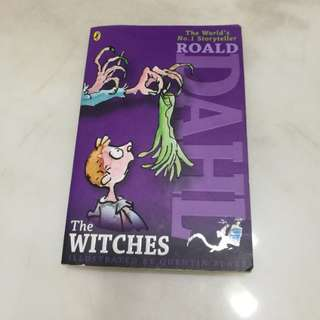 The witches by Roald Dahl in good condition