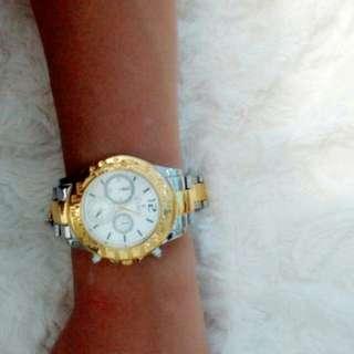 Jam new & strap apple watch sz 38&42 black & purple