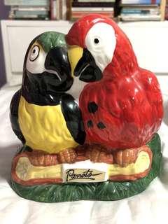 Mini Parrot Vase