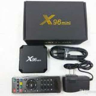 4k 64bit Android TV Box X96 mini
