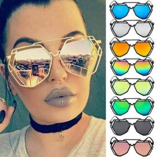 (PO) Funky Frame Glasses
