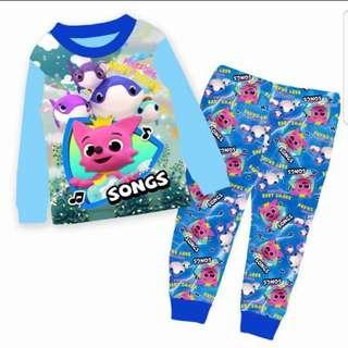 BN Baby Shark Cotton Pyjamas 2-7yrs