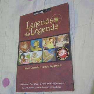 [PRELOVED] Comic Legends of The Legends