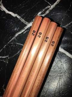 Muji wooden pencils