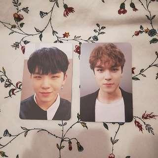 WTT Seventeen Woozi & Vernon Photocard