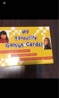 Shichida- Genius Card
