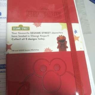Sesame Street Elmo Notebook