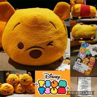 Disney US Tsum Tsum Winnie the Pooh Plush Toy (Medium)