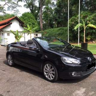 Golf Cabriolet for rental