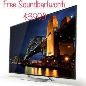 Sony 55X9000E 4K Ultra HD LED Andriod TV with free Soundbar