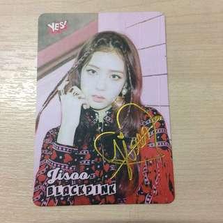 Blackpink - Jisoo Photocard