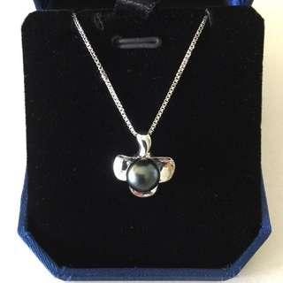 ✨New 18K Tahitian pearl pendant 大溪地黑珍珠吊咀✨