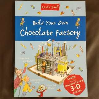 全新 Roald Dahl Chocolate Factory paper model