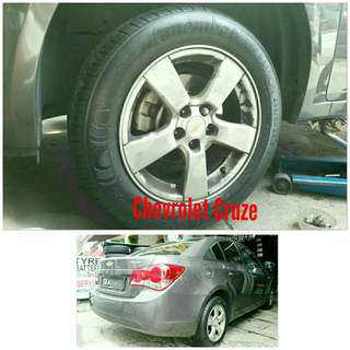 Tyre 205/60 R16 Membat on Chevrolet Cruze 🐕 Super Offer 🙋‍♂️