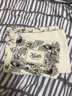 Kiehl's 化妝袋1式3個