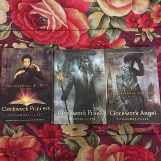 PRELOVED THE INFERNAL DEVICES TRILOGY BY CASSANDRA CLARE