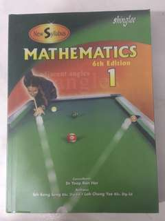 Shinglee Mathematics Sec 1 Textbook