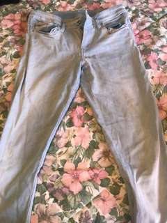 Diesel high waisted jeans