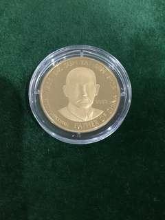 Kingdom of Bhutan 2003 Sun Yat-Sen gold coin