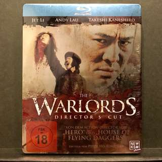 THE WARLORDS [投名狀] Director's Cut Blu-ray IronPack | Germany Import OOP US$29 | S$35