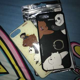 Miniso We Bare Bears iphone case