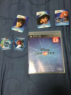BNIB PS3 Disney Infinity and accessories