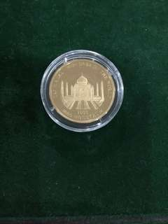 Kingdom of Bhutan 2002 gold coin
