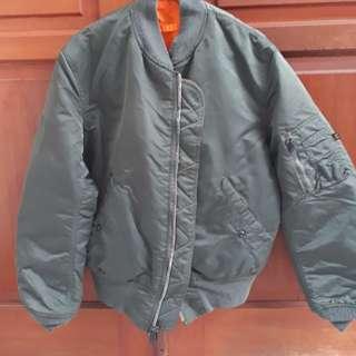 Jaket alpha industries (flyer jacket)