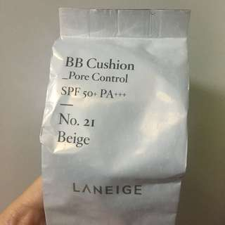 Laneige BB Cushion Pore Control No. 21 Beige REFILL ONLY