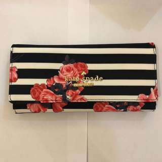 Kate Spade Wallet - Floral Stripes