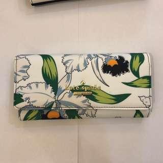 Kate Spade Wallet - Floral White